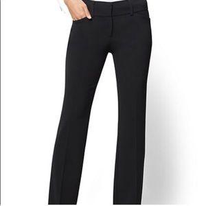NY&CO Black Flare Dress Pants